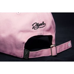 Cappellino Dolly Noire rosa con visiera curva