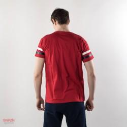 dietro t-shirt starter rossa