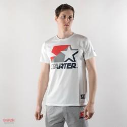 T-shirt starter logo tricolor