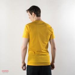 dietro t-shirt shoeshine gialla