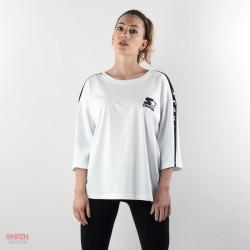 maxi t-shirt starter bianca