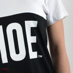dettaglio t-shirt lunga donna shoeshine