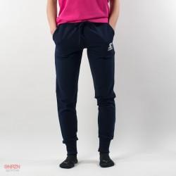 Pantaloni tuta blu donna
