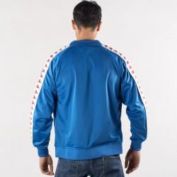 giacca kappa blu banda 222 dietro