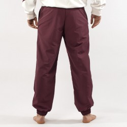 Pantaloni AsicsTiger bordeaux dietro