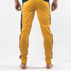 Pantaloni Kappa gialli dietro