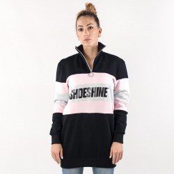 Felpa Shoeshine inserto rosa